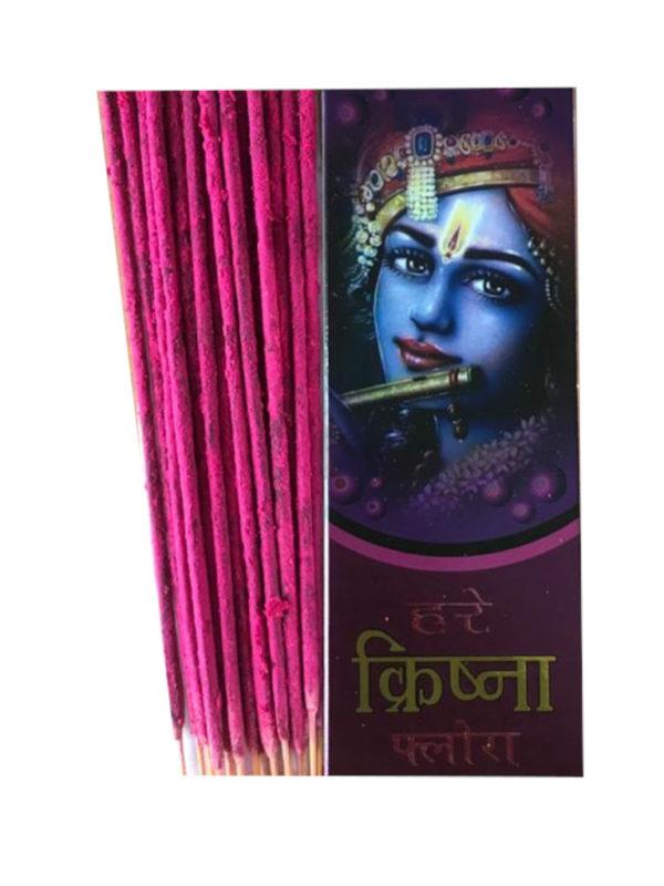 Harekrishna Flora packet with agarbatti